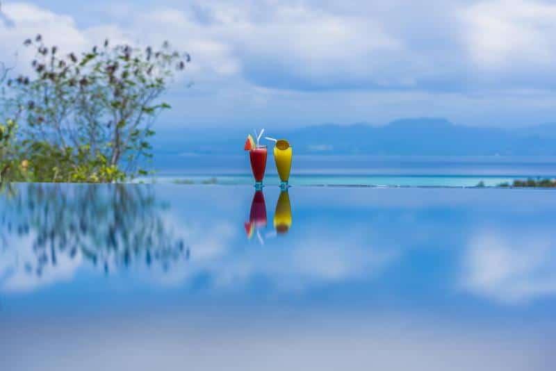 Nusa Lembongan infinity pool
