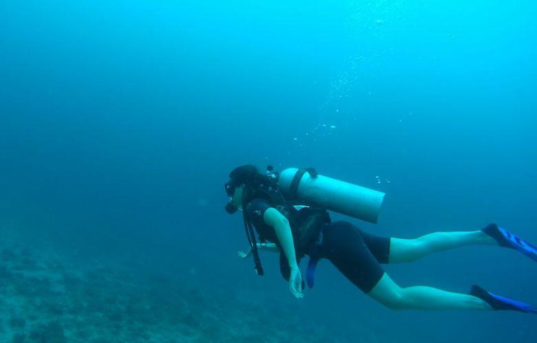 Gili air Padi duiken