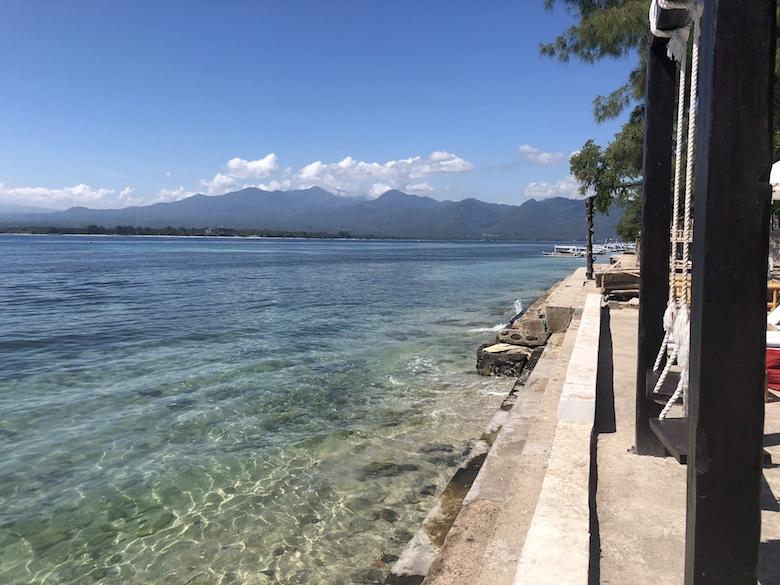 Mooiste stranden Gili Air