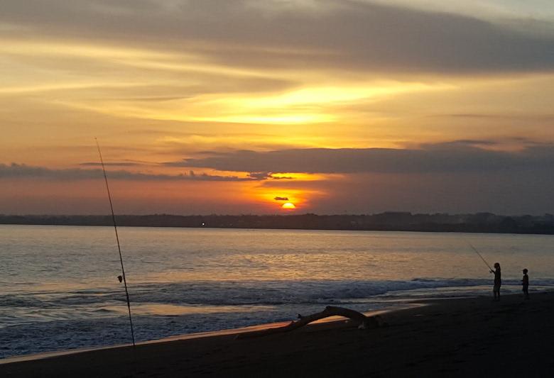 Stranden bali Klotok
