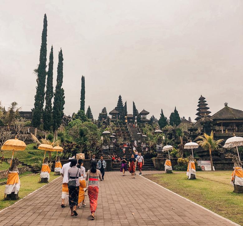 Pura Besakih tempel bali