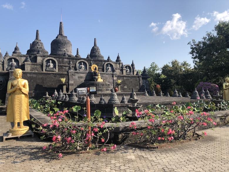 Boeddhistische tempel bali borobudur