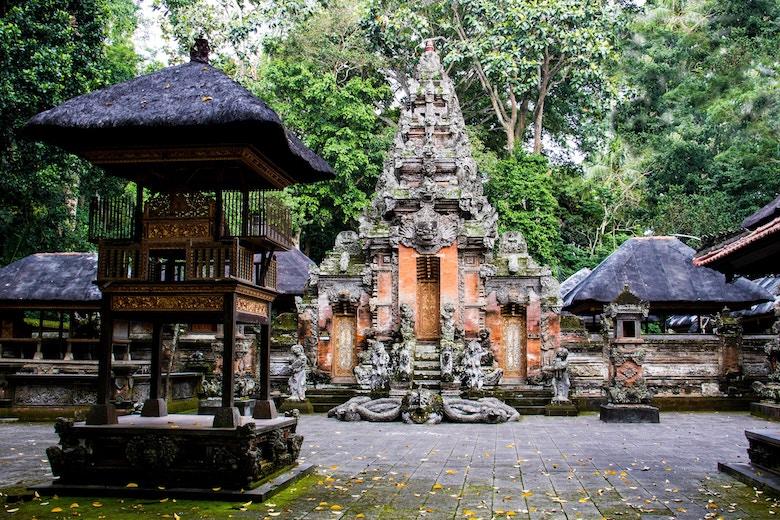 monkey forest ubud tempel